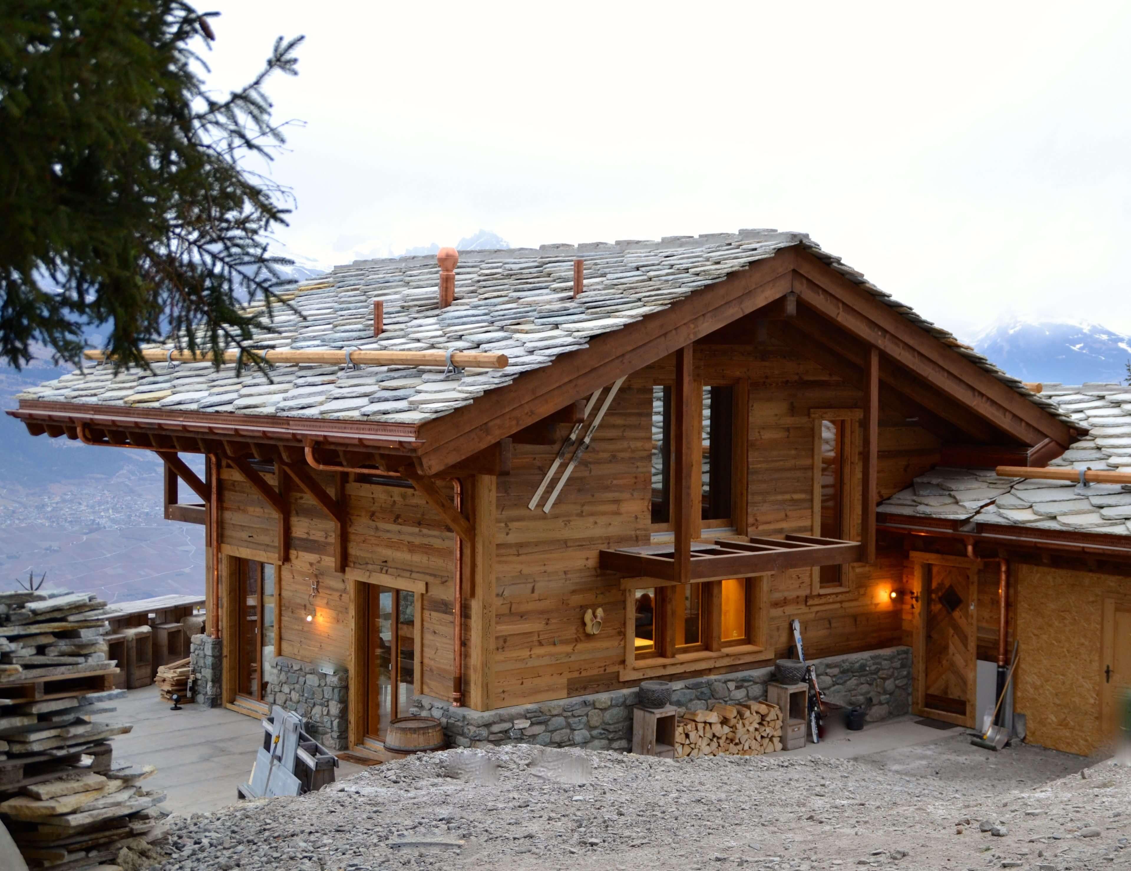 Chalet in de zwitserse bergen indra sripal - Chalet ontwikkeling ...
